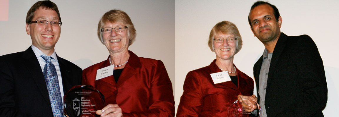 Chemical Engineering alums Determan, Raman are PPEA recipients