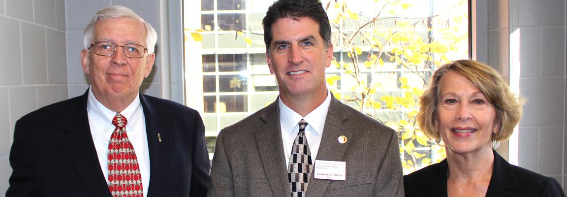 Hagenson, Lane honored by CBE, College of Engineering