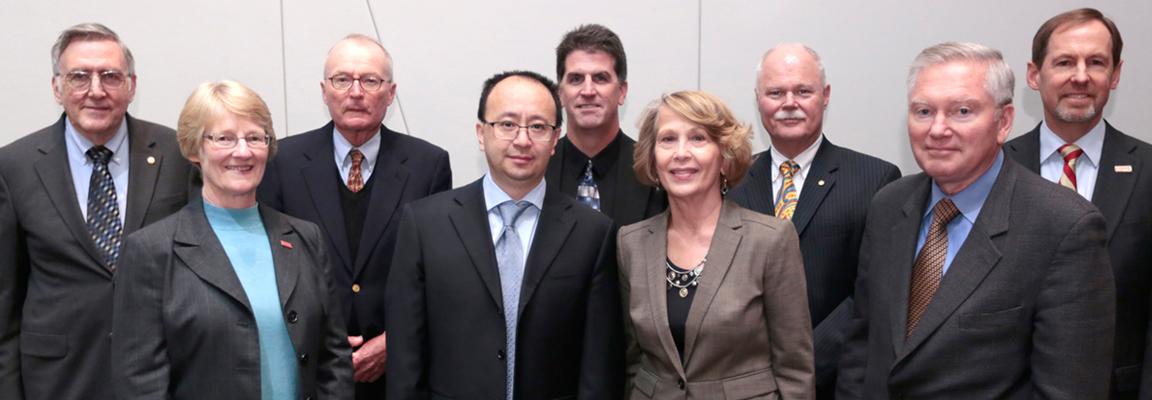 Wenzhen Li honored as inaugural CBE Seagrave Professor