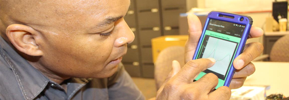 Making smart phones a tool for diabetics: CBE's Rollins is working to make it happen
