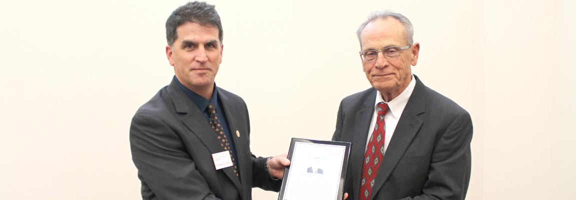 Michael Brady, '65 graduate, enters CBE Hall of Fame