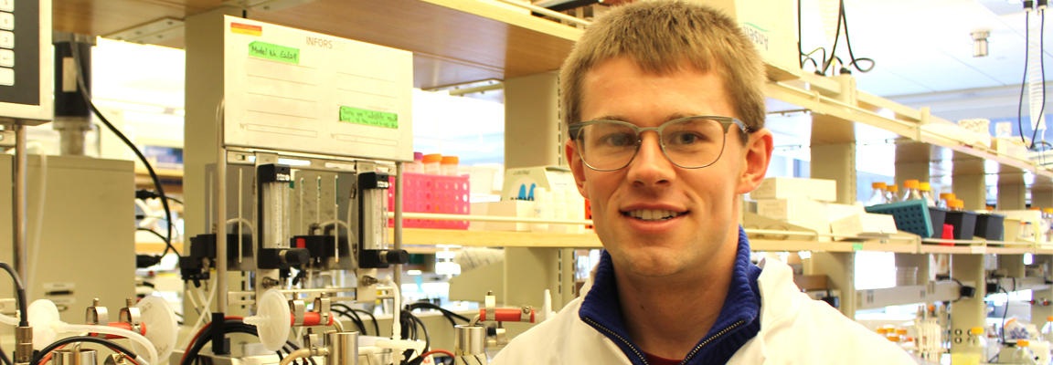 Important NSF fellowship for chemical engineering grad student Deon Ploessl