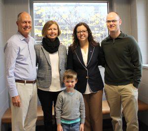 Meghan Watt with family