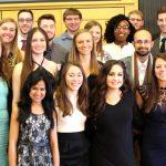 Graduating seniors group photo