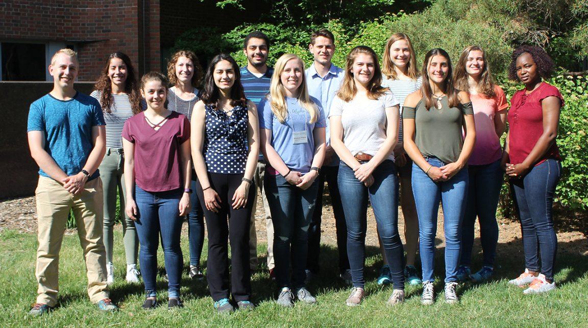 BioMaP REU students