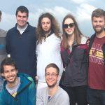 Oviedo students at overlook