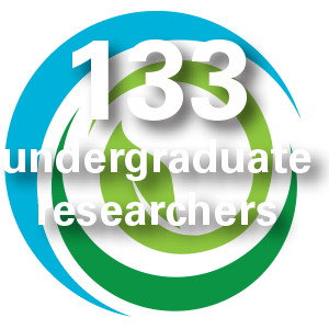 133 undergraduate researchers