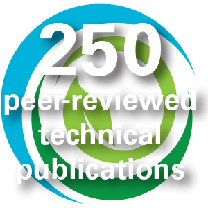 250 peer-reviewed technical publications