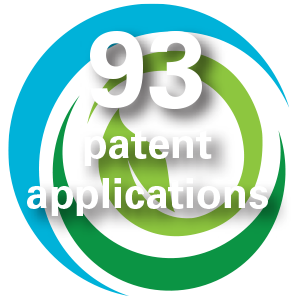 93 patent applications