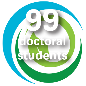 99 doctoral students