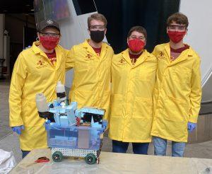 Ninetails with Attitude Chem-E-Car team