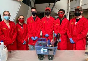 Sweeney Dratini Chem-E-Car team