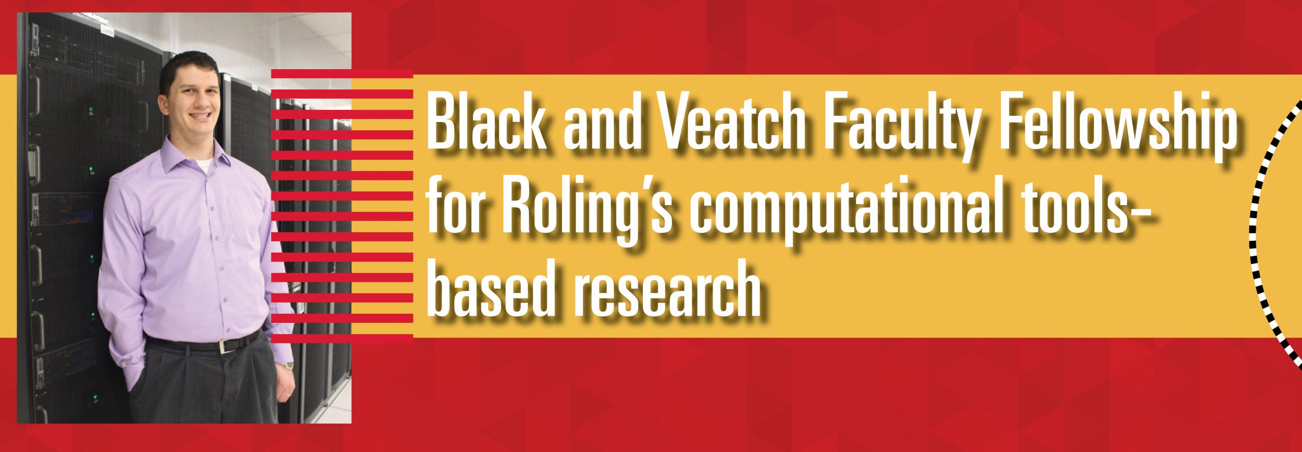 Black and Veatch Faculty Fellowship for Roling's computational tolls-based research